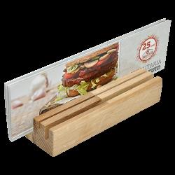 houten-menukaarthouder
