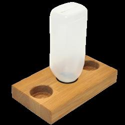 houten-saus-flessen-houder